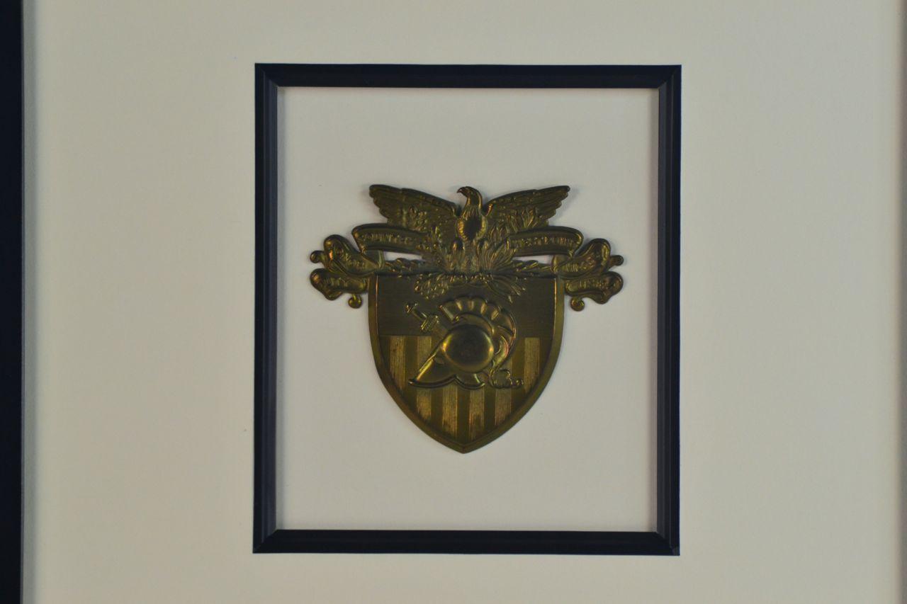 Antique West Point Kepi Insignia