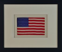 46 STAR FLAG ANTIQUE IMAGE