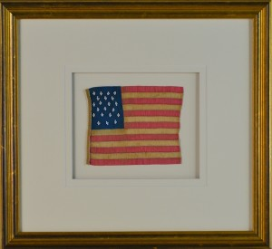 21 STAR FLAG ANTIQUE