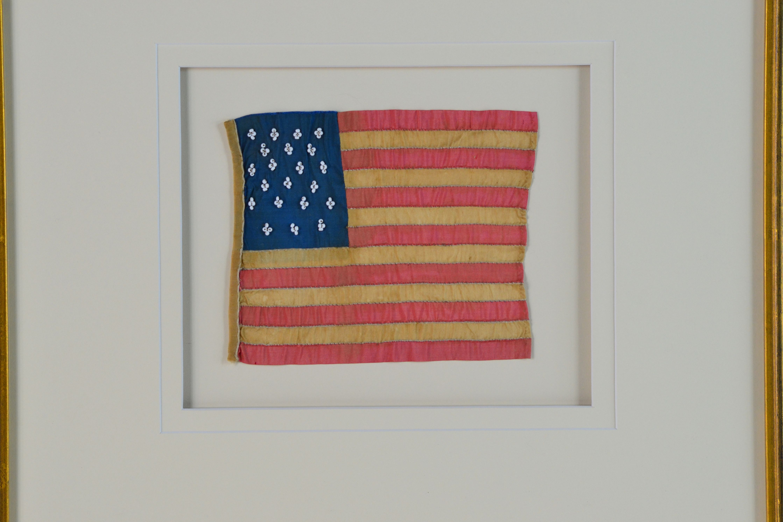 21 STAR FLAG ANTIQUE IMAGE