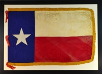 TEXAS FLAG ANTIQUE IMAGE