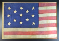 13 STAR FLAG ANTIQUE IMAGE