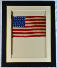 37 STAR FLAG ANTIQUE IMAGE