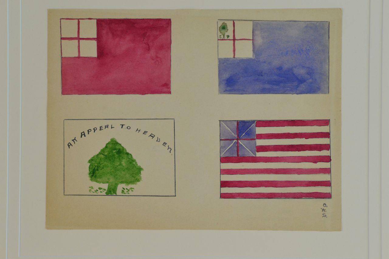 REVOLUTIONARY WAR FLAGS IMAGE