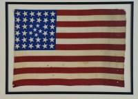 38 STAR FLAG ANTIQUE IMAGE