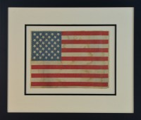 36 STAR FLAG ANTIQUE IMAGE