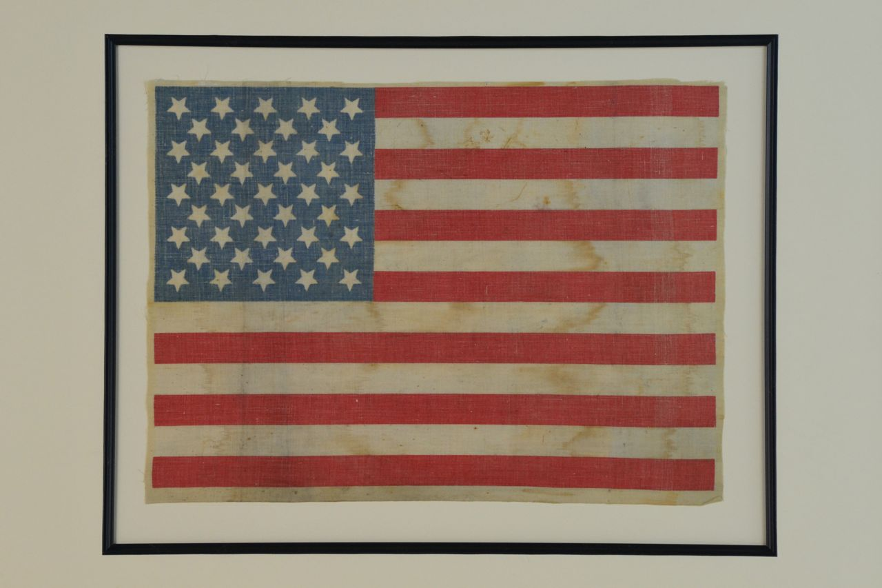 41 Star Antique Flag 1890 Sku 11340 Sold Historical
