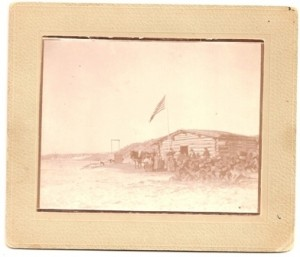 ALBUMEN PHOTO SETTLEMENT IN THE WEST IMAGE