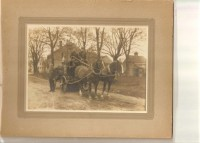 ALBUMEN PHOTO WAGON IMAGE
