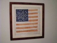 ANTIQUE 38 STAR FLAG IMAGE