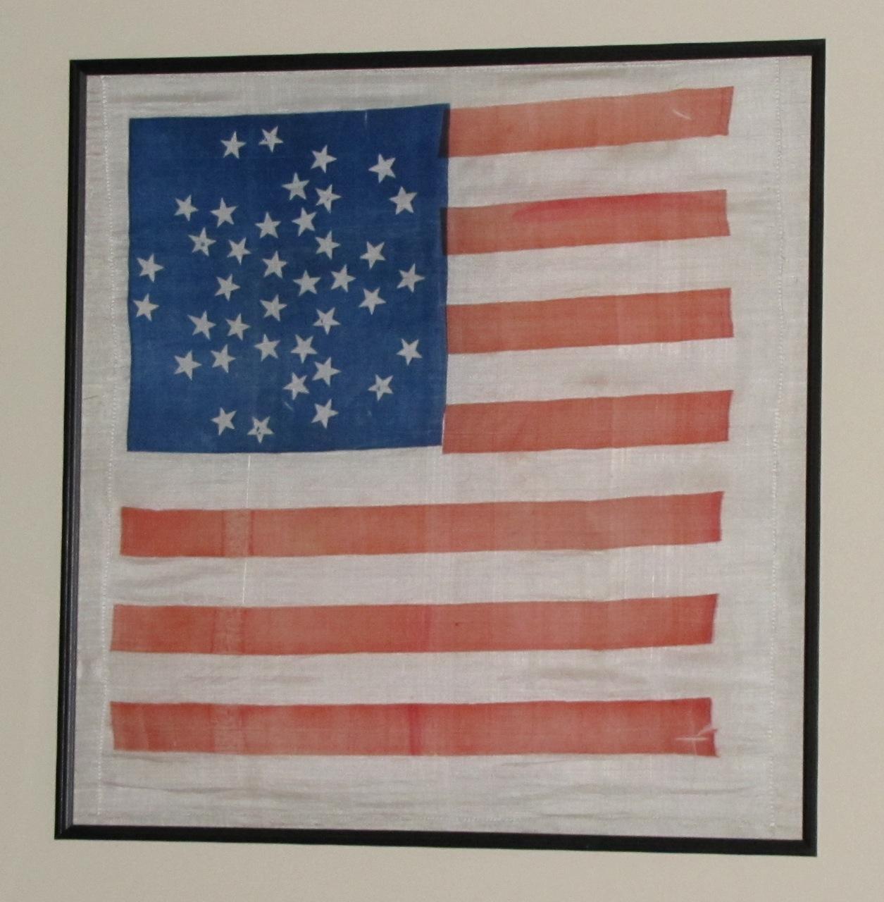 ANTIQUE FLAG IMAGE