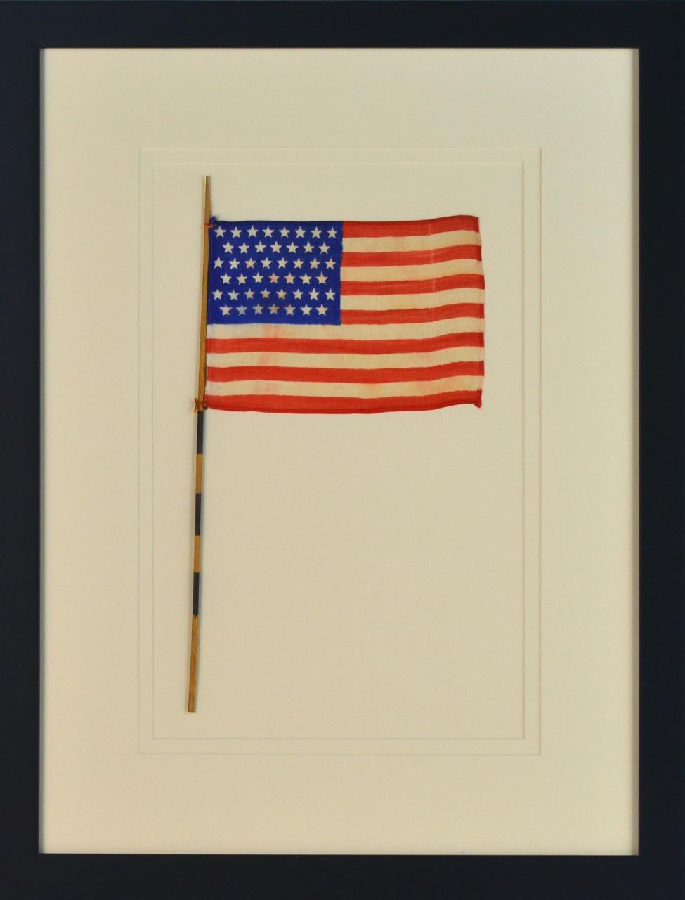 45 STAR FLAG ANTIQUE IMAGE