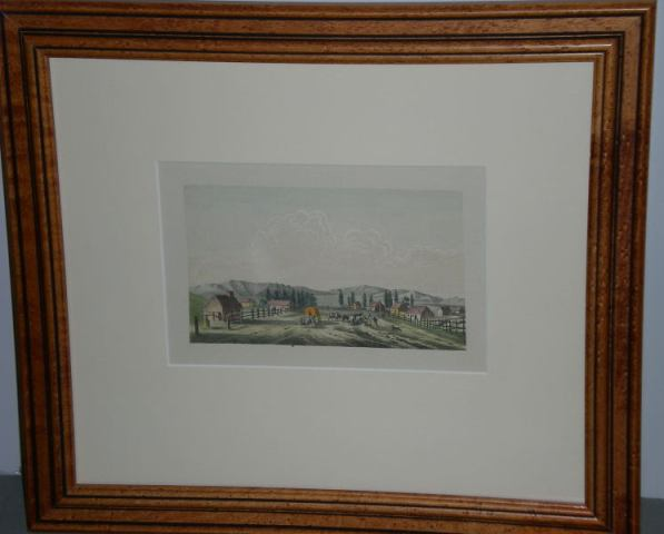 GEORGE CATLIN LITHOGRAPH IMAGE