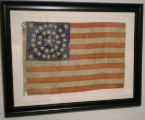 35 STAR HALO FLAG IMAGE