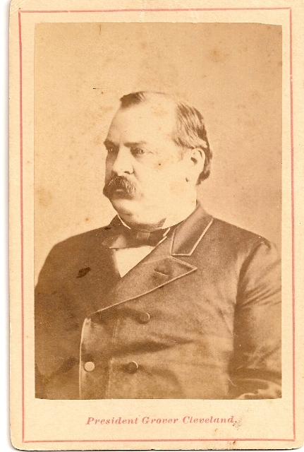 IMAGE OF GROVER CLEVELAND