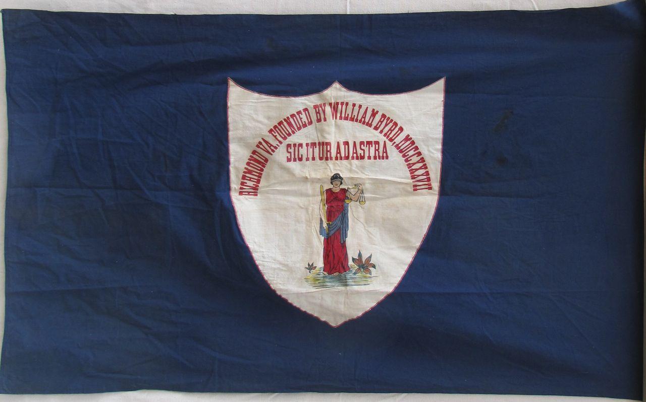 ANTIQUE RICHMOND FLAG IMAGE