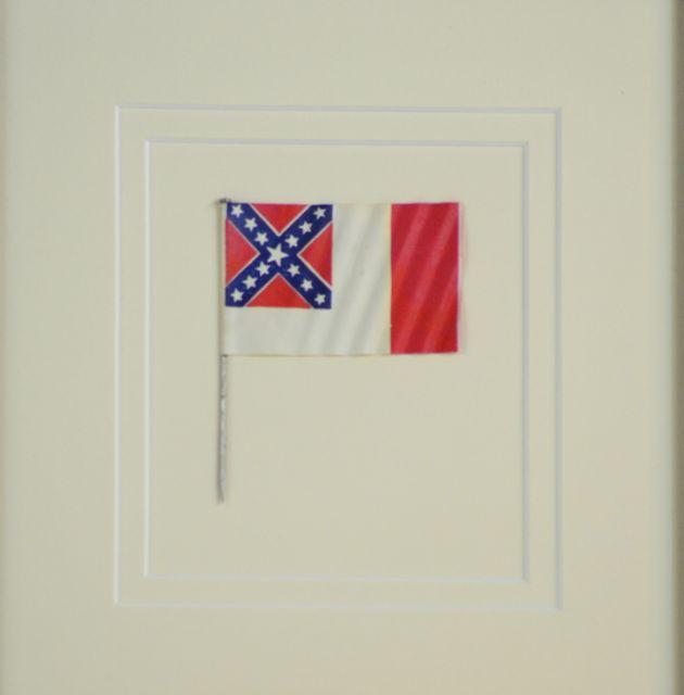 UCV Last National Flag Pin ~ SKU 7556 / SOLD - Historical Americana