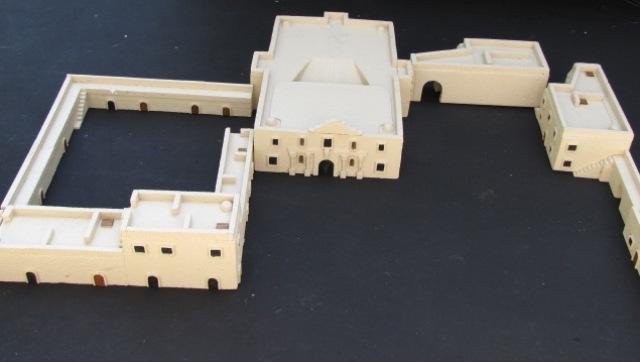Toy Replica Of The Alamo 85