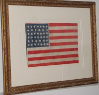 ANTIQUE FLAG IMAGE