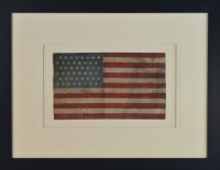 45 STAR FLAG ANTIQUE IMAGE