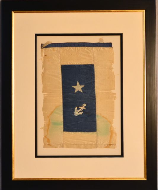 Rare Antique Us Navy Admirals Commodore S Flag