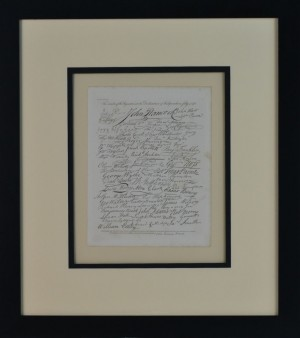 SIGNERS OF DECLARATION IMAGE