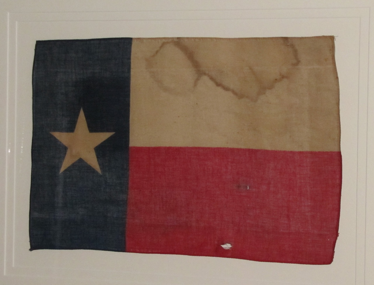 Antique Texas State Flag Sold Historical Americana