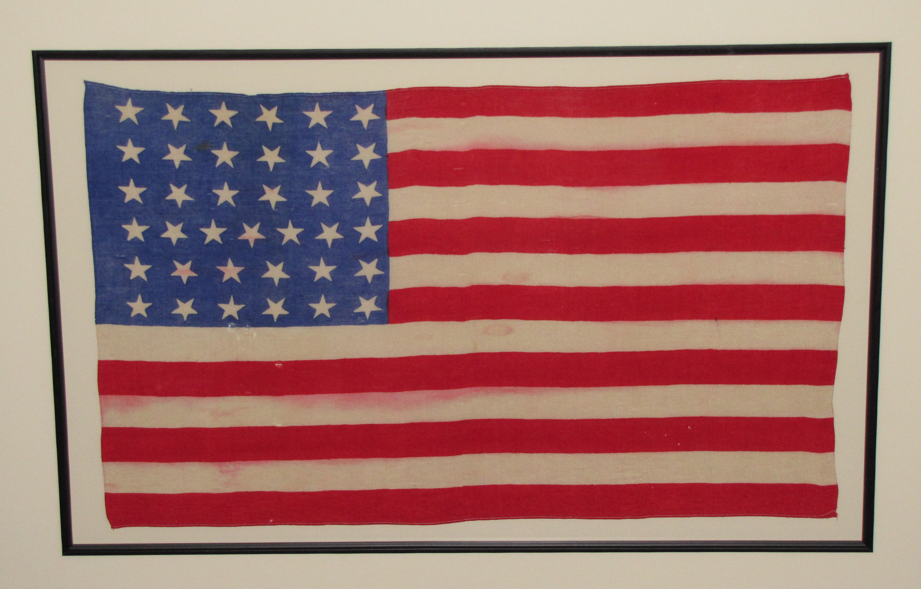 Authentic Antique 37 Star American Flag ~ SKU 9204 / SOLD ...