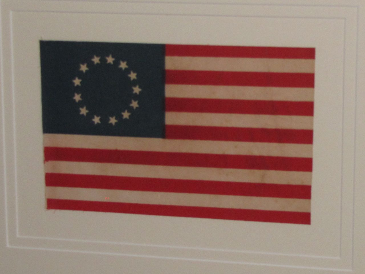 1932 Era 13 Star Betsy Ross Flag Sku 9233 Sold