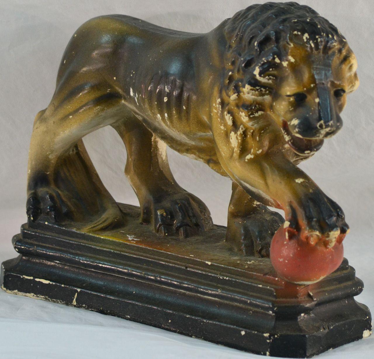 CHALK LION IMAGE