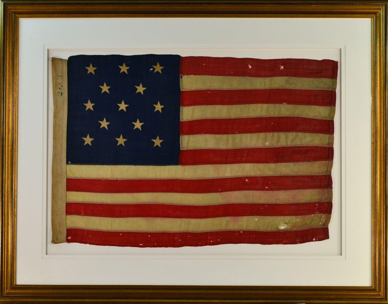 bdd676b3acb Antique 13 Star Flag