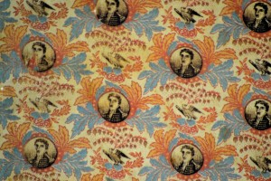 ANDREW JACKSON CAMPAIGN TEXTILE IMAGE