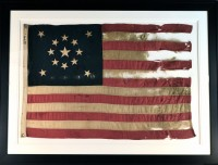 13 STAR ANTIQUE FLAG IMAGE