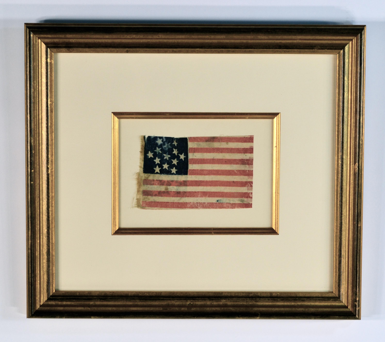 13 Star Civil War Flag, Star of David IMAGE