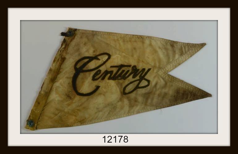 VINTAGE CENTURY BOAT FLAG IMAGE