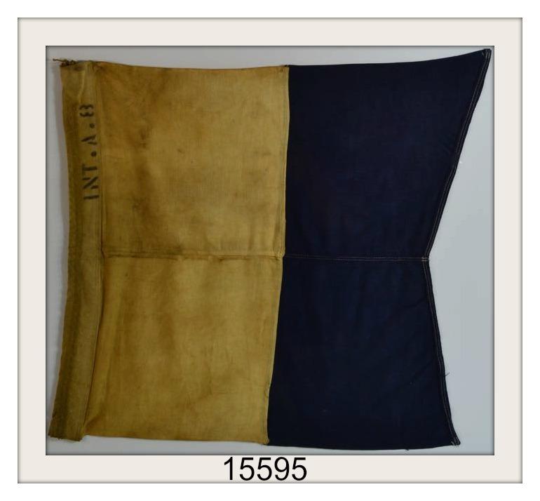 ANTIQUE NAUTICAL SIGNAL FLAG IMAGE