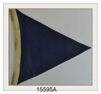 "VINTAGE NAUTICAL SIGNAL FLAG ""A"" IMAGE"