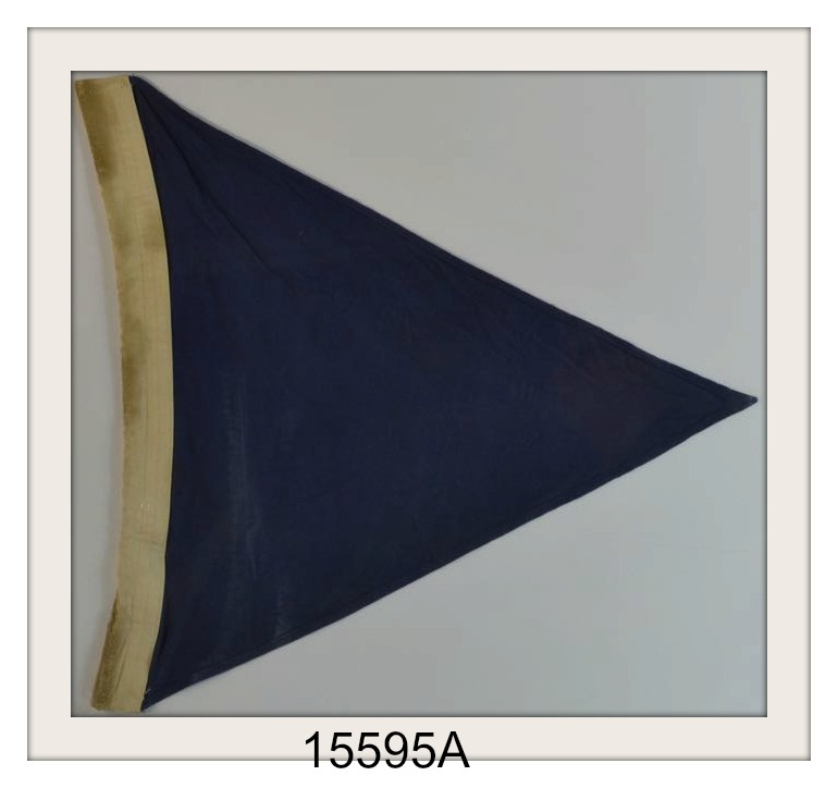 "VINTAGE NAUTICAL SIGNAL FLAG ""A"" IMAGE"