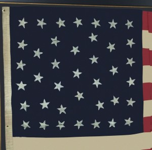 ANTIQUE 39 STAR FLAG IMAGE