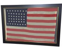 ANTIQUE 44 STAR FLAG IMAGE