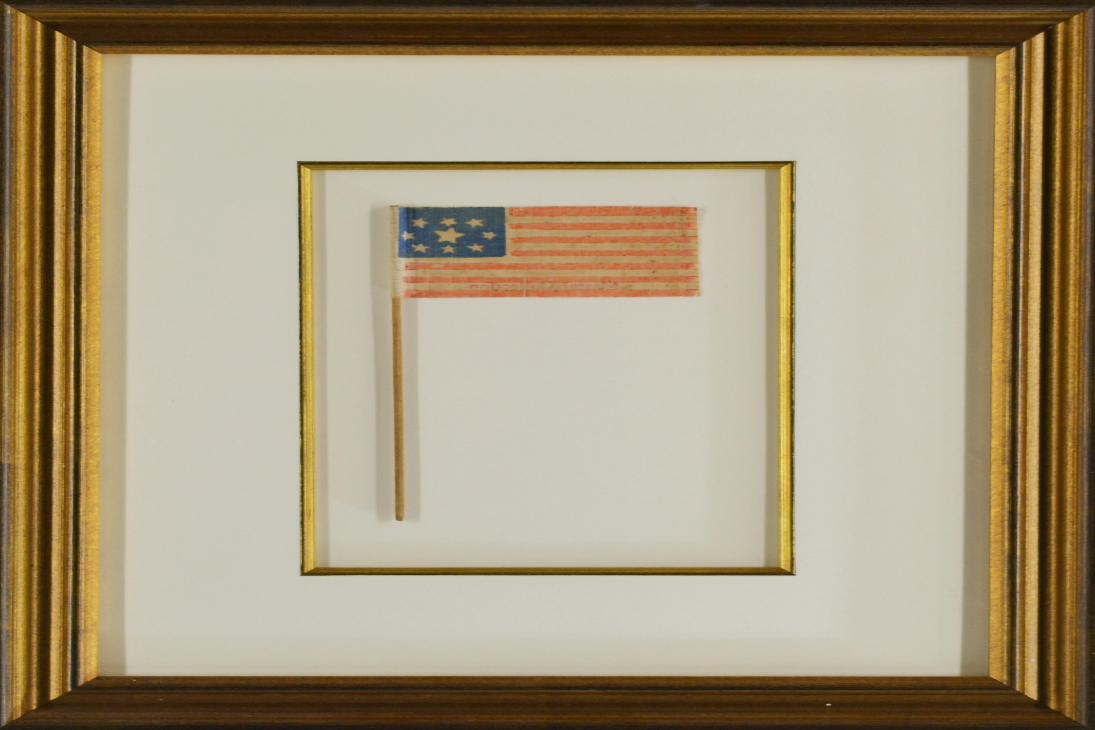 Rare 9 Star Civil War era Flag / SKU 10365 - Historical
