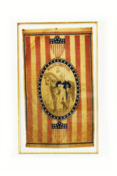George Washington Flag Framed
