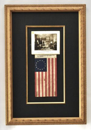 Antique 13 Star Betsy Ross Flag
