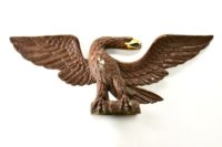 Vintage Metal Federal Wall Eagle