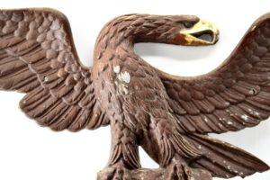 Vintage Metal Federal Wall Eagle