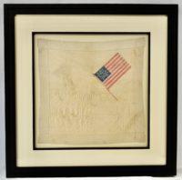 38 Star Handkerchief Circa 1876