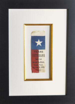 Last Reunion Ribbon Texas Revolution Veterans