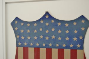 Rare Federal Shield with 44 Stars Circa 1890