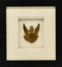Antique US Army Shako Eagle Hat Insignia