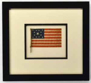 Antique 13 Star American Flag Circa 1876